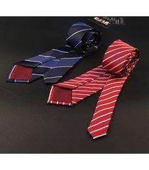cravatte formali della festa nuziale della cravatta a strisce del legame di affari degli uomini