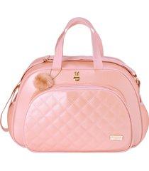bolsa maternidade grande pirulitando pilli rosa
