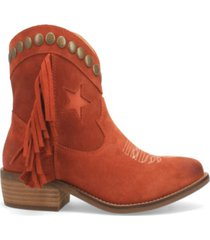 dingo women's lonestar suede bootie women's shoes