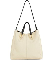 jasmine leather tote