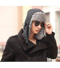 new plush men winter trapper trooper hunting russian ushanka earflap hat