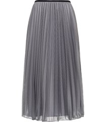 moncler technical micro net skirt