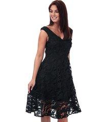 womens blossom lace bardot dress