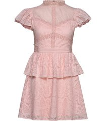 grace dress korte jurk roze by malina