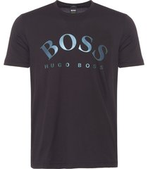 boss athleisure black tallone logo t-shirt 50379460