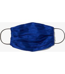 proenza schouler satin mask with pouch 00407 cobalt/blue one size