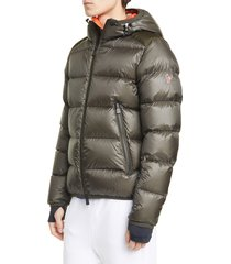 men's moncler grenoble hintertux hooded down jacket
