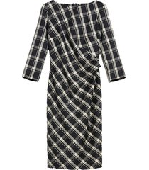 fiorina wool flannel dress