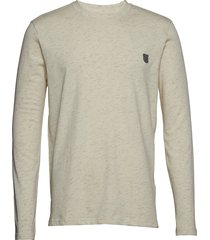 long sleeve jersey tee t-shirts long-sleeved beige tonsure