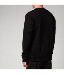kenzo men's tiger seasonal sweatshirt - black - xxl