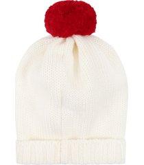 little bear ivory hat for babykids