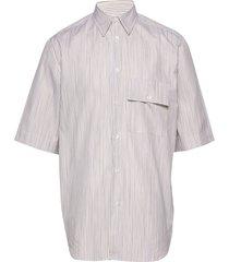 blyg shirt overhemd met korte mouwen geel holzweiler