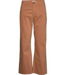 eiria 2 wijde broek bruin tiger of sweden jeans