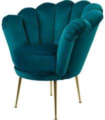 fotel turkus tapicerowany lux-3