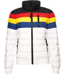 superdry women's colourblock fuji bomber jacket