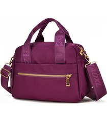impermeabile crossbody borsa multi-carry per donna