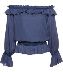 camicetta con spalle scoperte (blu) - bpc selection premium