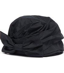 'zoe' bow turban hat