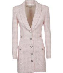 alessandra rich sequin detailed blazer