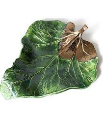 patera dekoracyjno- użytkowa big leaf