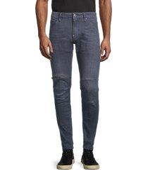 g-star raw men's mid-rise skinny jeans - medium - size 31 30