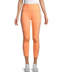 free people movement women's you're a peach sport leggings - spiced - size l