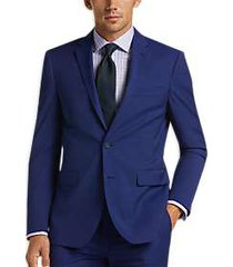 awearness kenneth cole awear-tech blue extreme slim fit suit