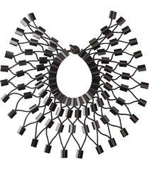 natori buffalo horn necklace, women's