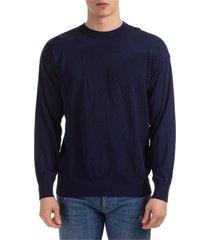 maglione maglia uomo girocollo over fit