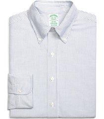 men's big & tall brooks brothers milano slim fit stripe dress shirt