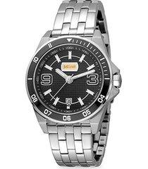 sport stainless steel bracelet watch