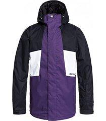 chaqueta defy jacket m snjt p morado dc