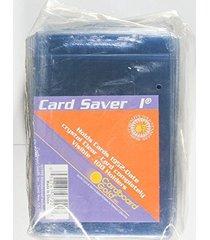 1000 cardboard gold card saver 1 semi-rigid card holders -psa submission size