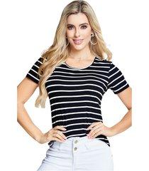 camiseta adulto para mujer marketing personal -bicolor