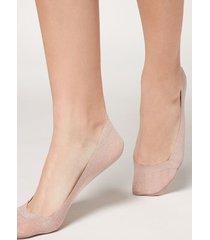 calzedonia fashion invisible socks woman pale pink size tu