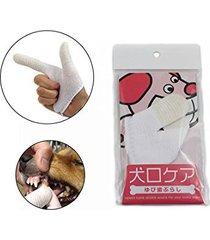 finger toothbrush for dogs - doggie dental gloves