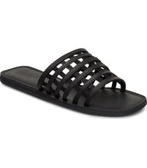 stb-tao cage shoes summer shoes flat sandals svart shoe the bear