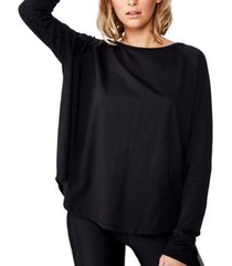 cotton on women's active rib long sleeve top
