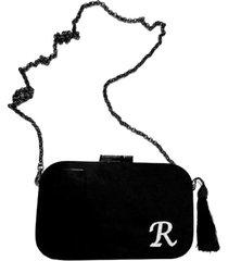 bolsa clutch all black personalizada