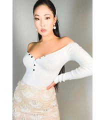 akira paxton the one u want off shoulder bodysuit