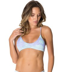 top lybethras waverly mermaid azul