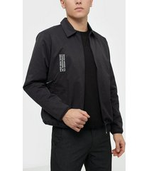 wood wood clive jacket jackor black