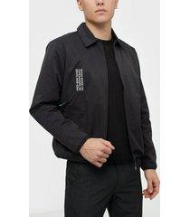 wood wood clive jacket jackor black