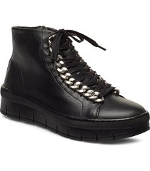 rowan shoes boots ankle boots ankle boots flat heel svart pavement