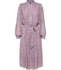 dress purple with dots