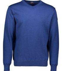 paul&shark pullover kobalt