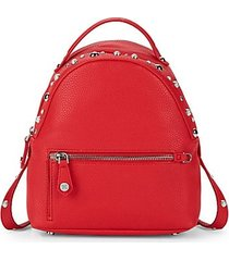 jess faux pearl mini backpack