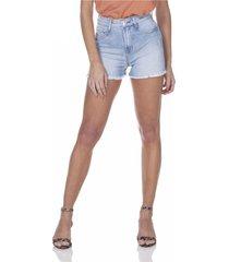 shorts jeans denim zero pin up barra desfiada