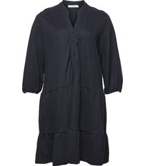 tribeca dresses shirt dresses blå violeta by mango
