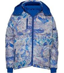 puffer jacket boden ski area fodrad jacka blå dedicated